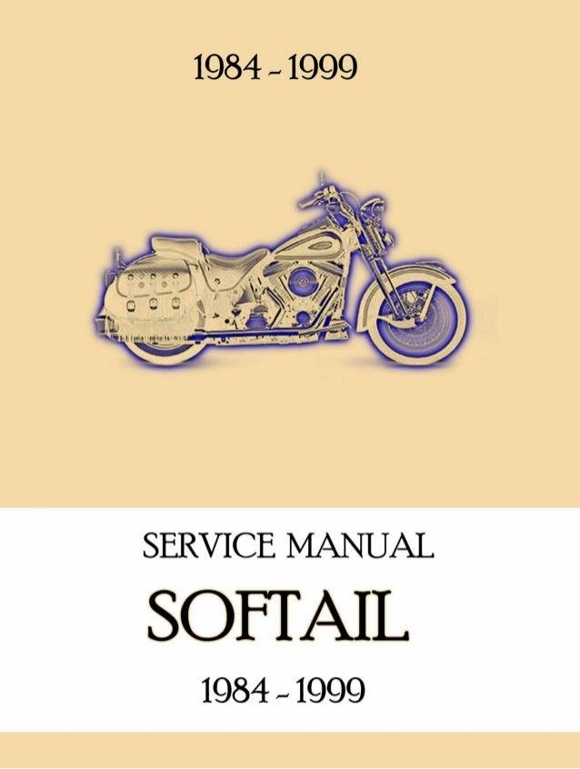 1999 HARLEY DAVIDSON SOFTAIL Service Repair Manual