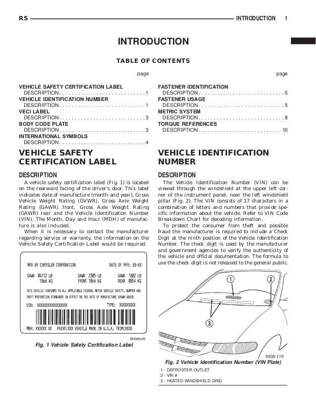 2001 dodge caravan service repair manual rh slideshare net 2000 dodge caravan repair manual pdf 2000 dodge caravan repair manual pdf