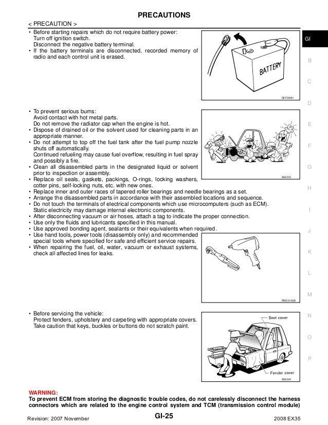 Manual Repair Free 1993 Infiniti J Transmission Control