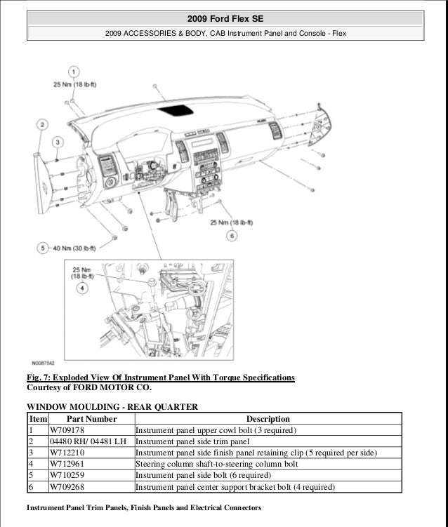 2009 ford flex service repair manual Ford 3.5L Engine