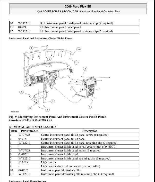 2009 Ford Flex Engine Diagram Wiring Diagrams