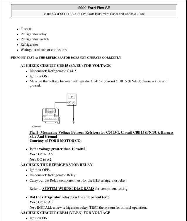 2009 Ford Flex Ignition Wiring Diagram Wiring Diagram