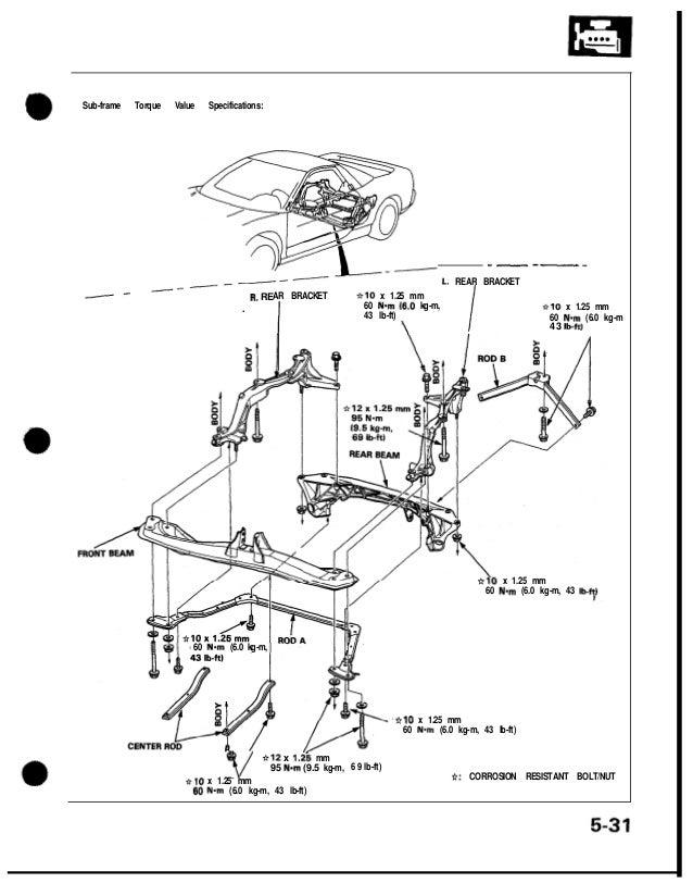 1991 acura nsx service repair manual rh slideshare net Ford Focus Fuse Box Diagram Ford Ranger Fuse Box Diagram