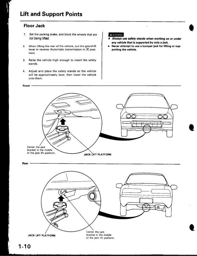 1999 Acura Integra Service Repair Manual