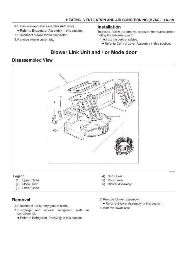 2001 ISUZU TROOPER RODEO AMIGO VEHICROSS AXIOM Service Repair Manual