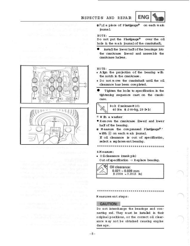 2000 Yamaha VMX1200M V-MAX Service Repair Manual