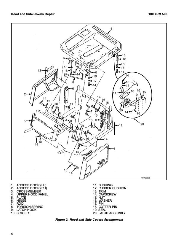 Yale A875 Glp040 060rg Tg Zg Lift Truck Service Repair Manual