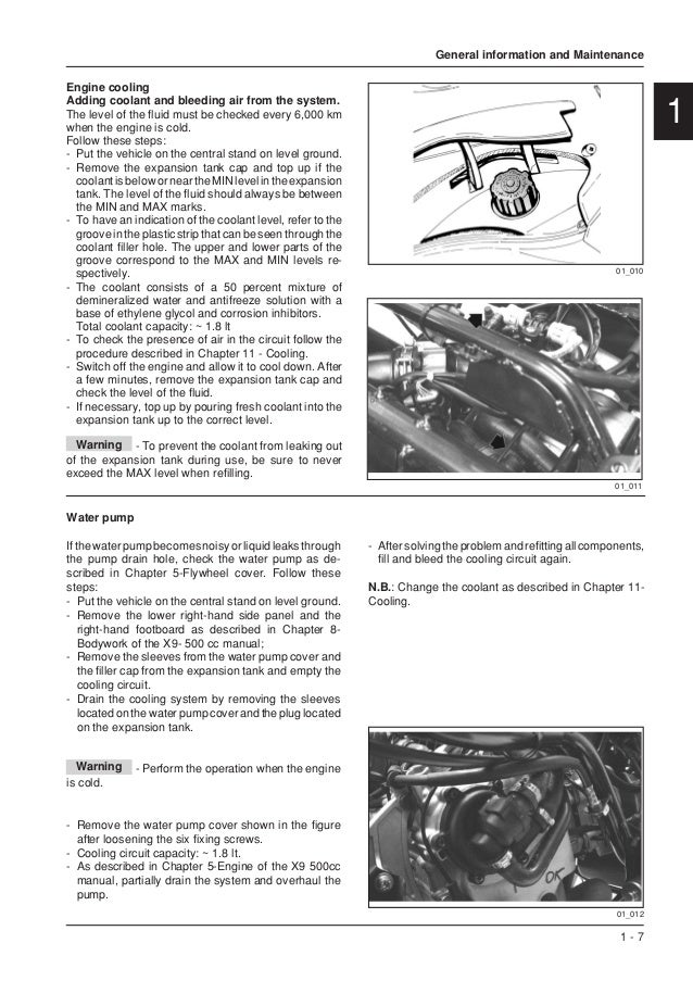 Piaggio X9 500 cc Service Repair Manual