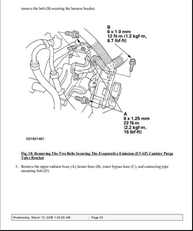 Acura Tsx Heater Hose Manual Browse Manual Guides - 2005 acura tsx repair manual