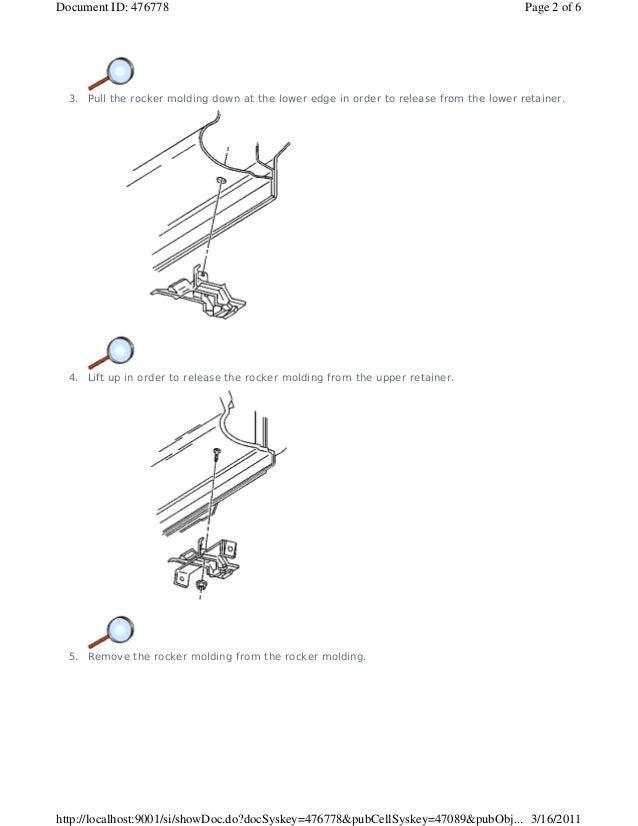 1999 PONTIAC TRANS SPORT Service Repair Manual