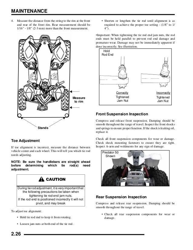 2009 Polaris Outlaw 90 Service Repair Manual