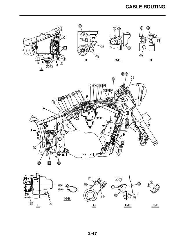 2007 YAMAHA XVS13 V-STAR Service Repair Manual