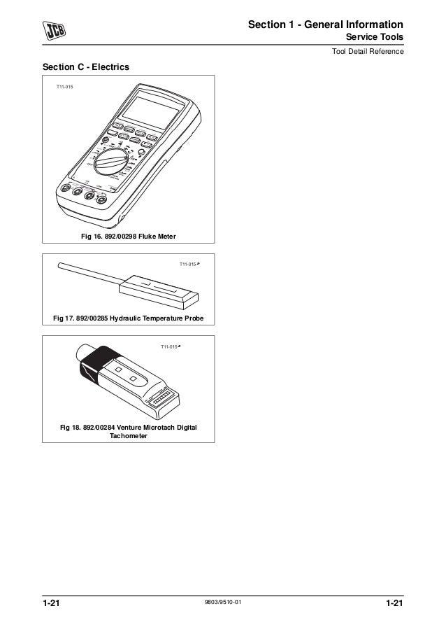 JCB 3.5D 4×4 TELETRUK Service Repair Manual SN:1176586 Onwards