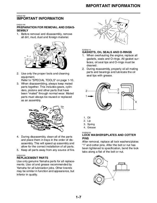 2009 yamaha fz6 service repair manual rh slideshare net Yamaha FZ6 Specs Yamaha Fazer Motorcycle