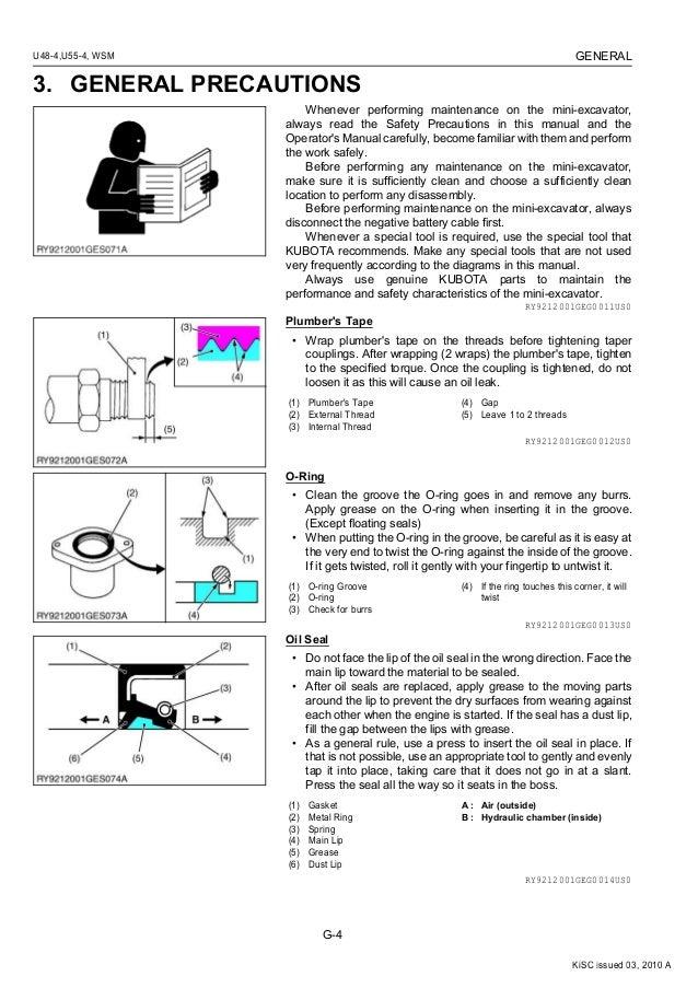 kubota kx057 4 service manual