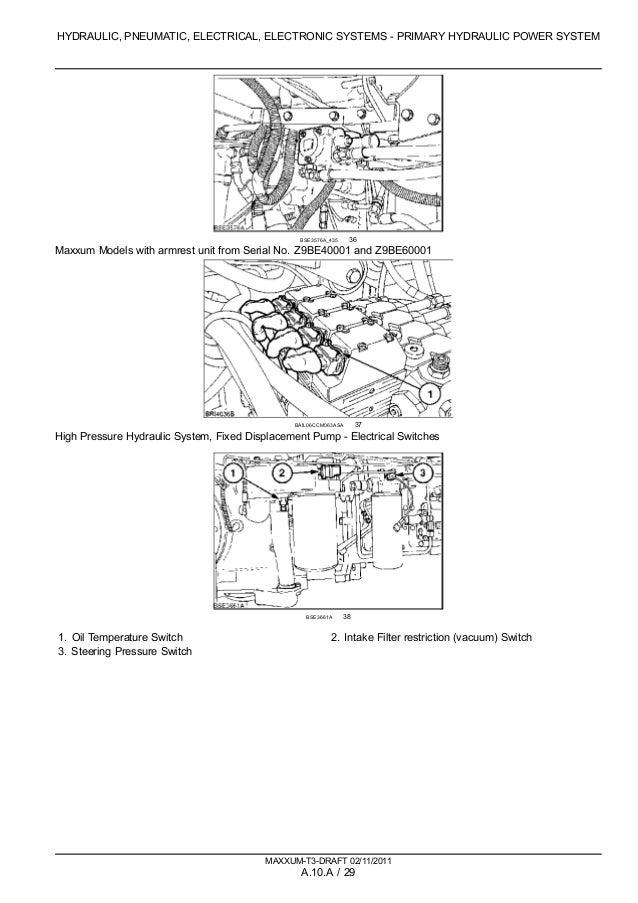 CASE IH MAXXUM 100 TRACTOR Service Repair Manual