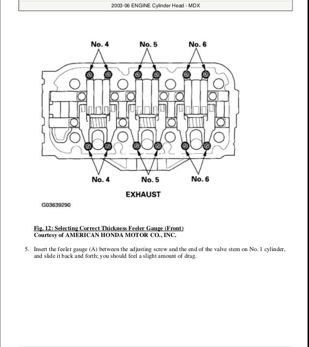 2004 ACURA MDX Service Repair Manual