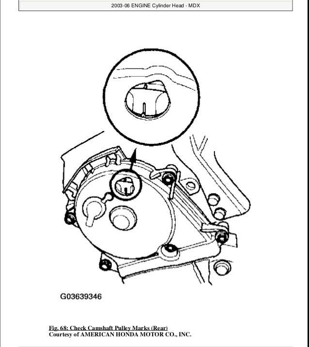 2004 ACURA MDX Service Repair Manual