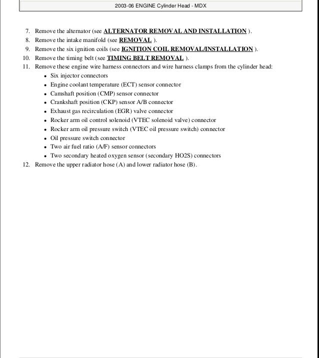 2004 acura mdx service repair manual rh slideshare net 2004 acura mdx manual pdf 2004 acura mdx touring manual