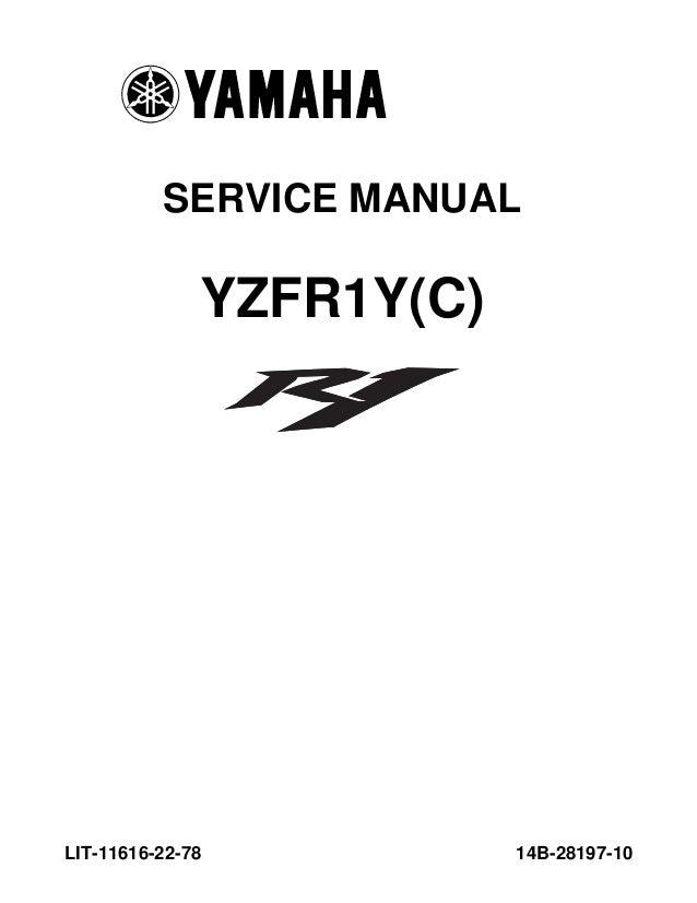 Bestseller: 02 R1 Service Manual