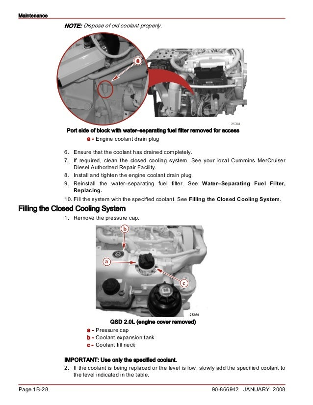 CUMMINS MERCRUISER QSD 2 0L DIESEL ENGINE Service Repair Manual SN:88…