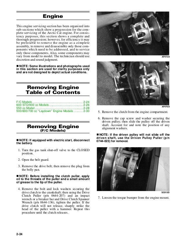 Special Type Spark Plug 2005 Arctic Cat Sabercat 600 EFI LX ...