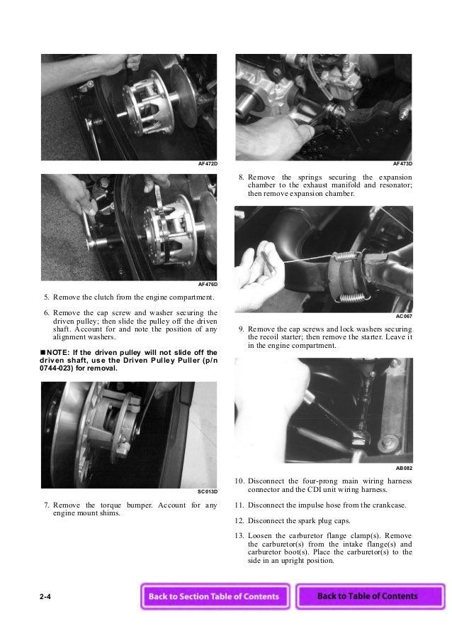 2003 Arctic Cat Z 570 Esr Snowmobile Service Repair Manual