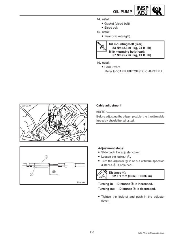 2001 Yamaha VMAX 700 (VX700) SNOWMOBILE Service Repair Manual