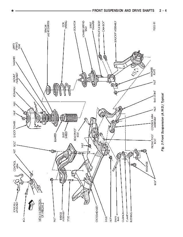 1992 DODGE CARAVAN Service Repair Manual