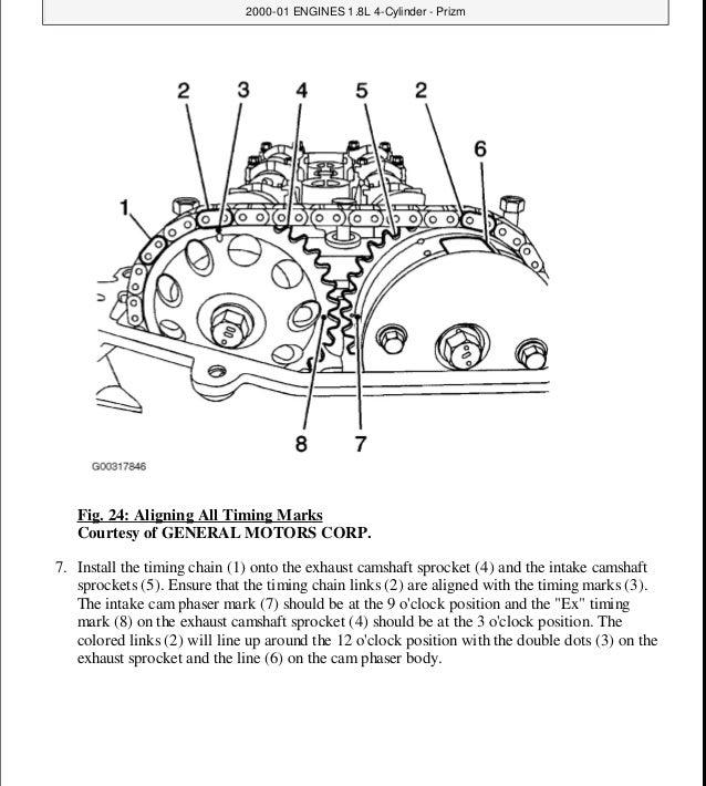 1998 Toyota Corolla Service Repair Manual
