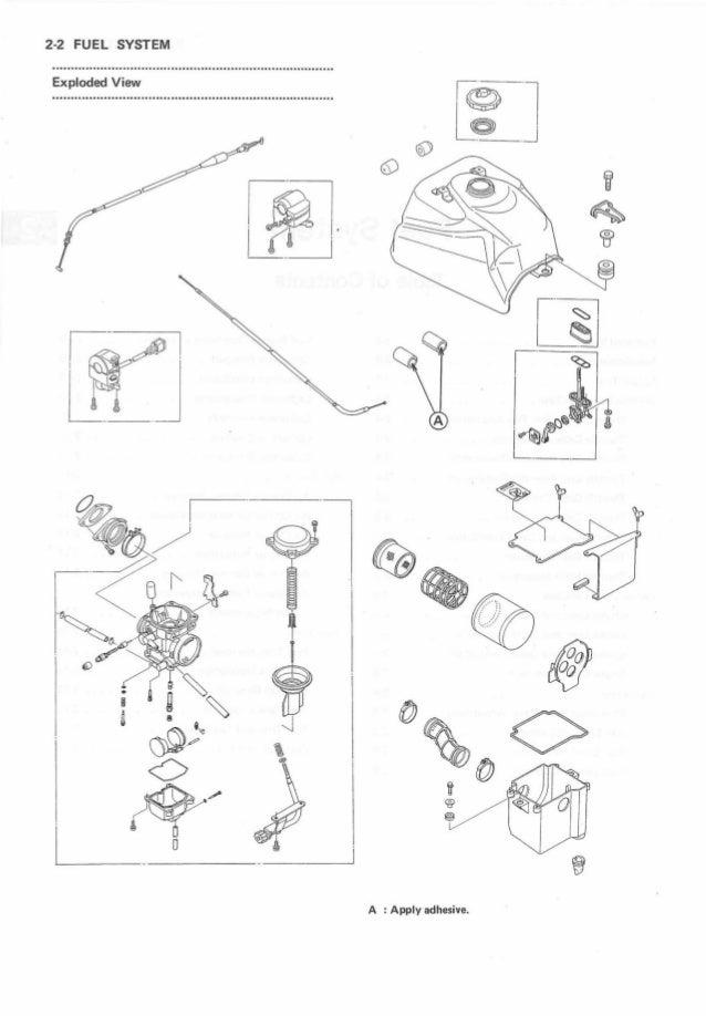 1996 Kawasaki KLF300-C8 Bayou 4x4 Service Repair Manual