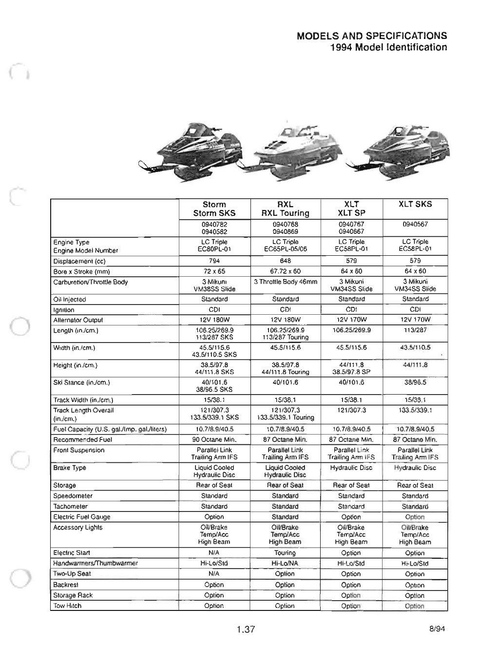 1992 POLARIS WideTrak SNOWMOBILE Service Repair Manual