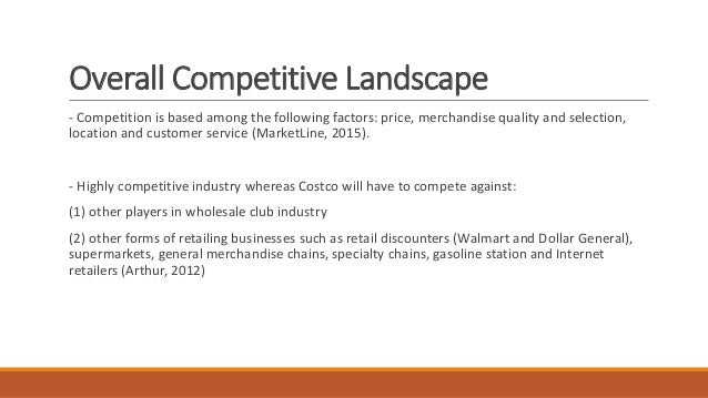 the business model and market strategy of costco The market that a nationally recognized workforce development and business strategy costco's sustainable business model is embedded in.