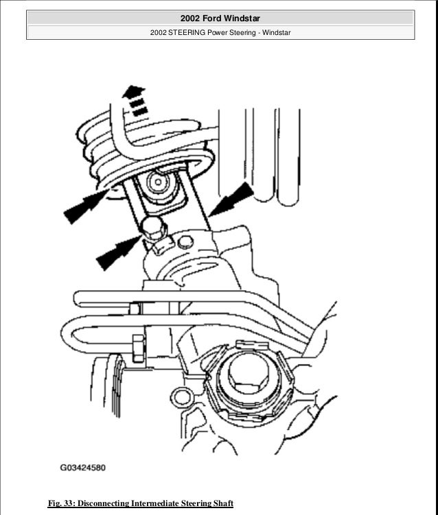 2001 Ford Windstar Service Repair Manual