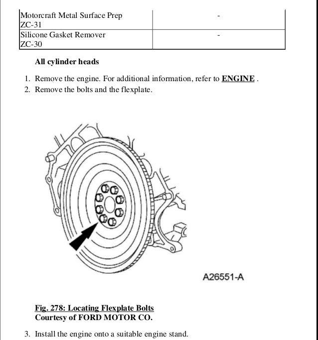 2006 ford expedition service repair manual rh slideshare net Motorcraft Spark Plug Specification Chart Motorcraft Batteries