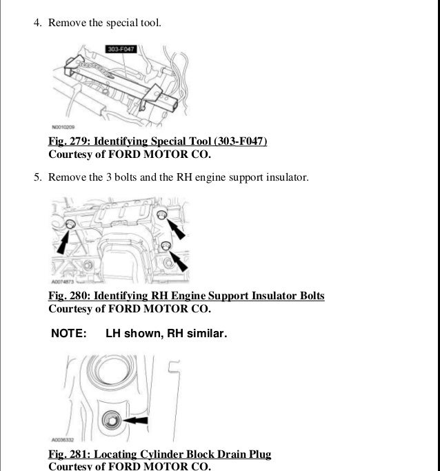 2005 ford expedition service repair manual rh slideshare net 2007 ford expedition repair manuals free 2003 Ford Expedition Owner's Manual