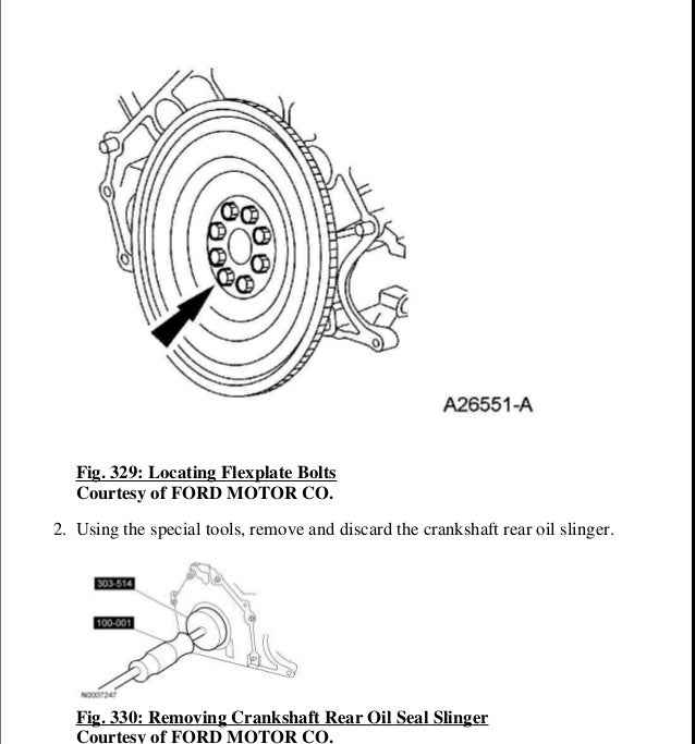 2004 FORD EXPEDITION Service Repair Manual