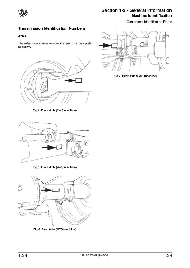 Wiring Diagram For A Jcb - Wiring Diagrams Entry on