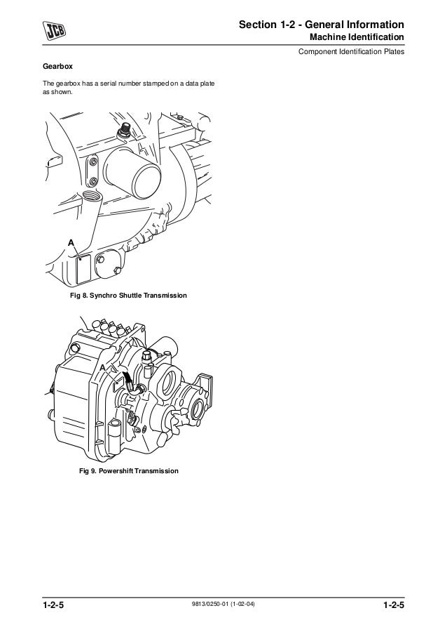JCB 3CX BACKHOE LOADER Service Repair Manual SN:2000000
