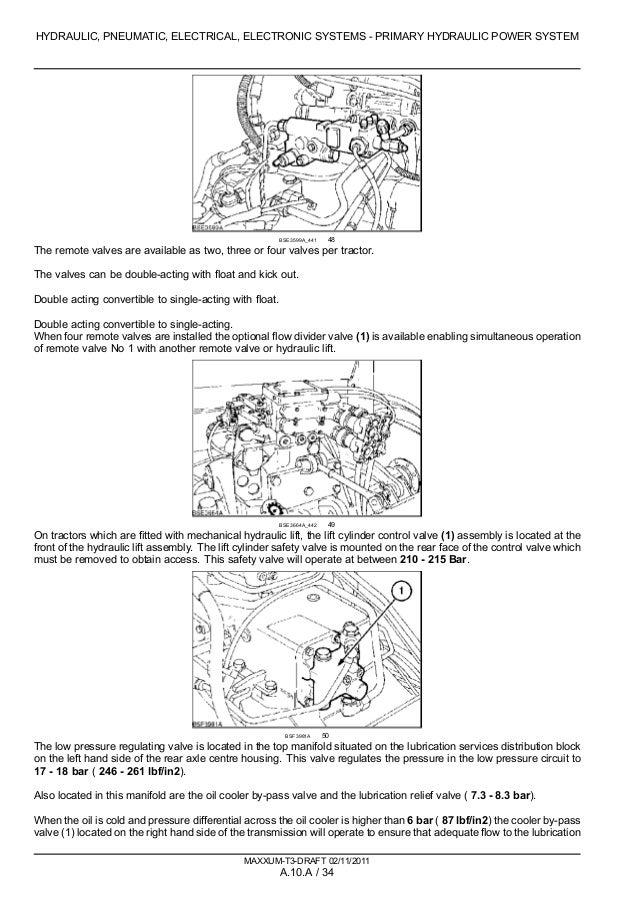 CASE IH MAXXUM 115 TRACTOR Service Repair Manual