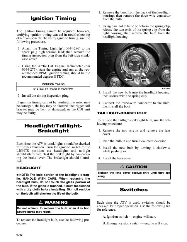 2006 ARCTIC CAT 250 DVX AND UTILITY ATVS Service Repair Manual