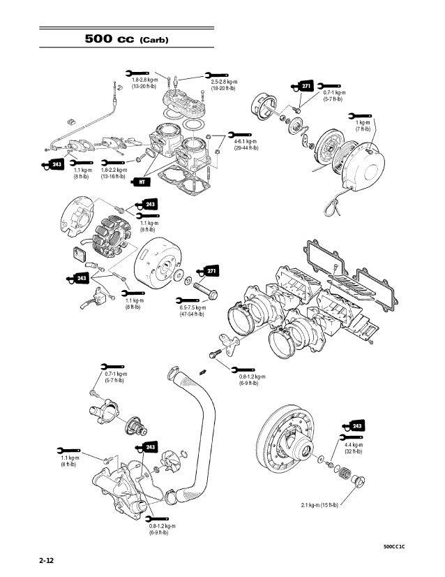2006 Arctic Cat 500 Cc Efi Snowmobile Service Repair Manual