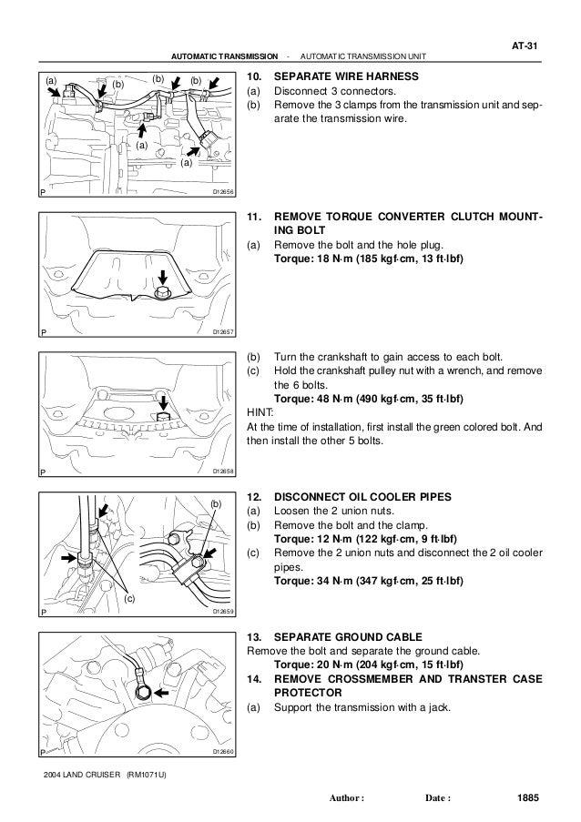 2002 Lexus Lx 470 Lx470 Service Repair Manual