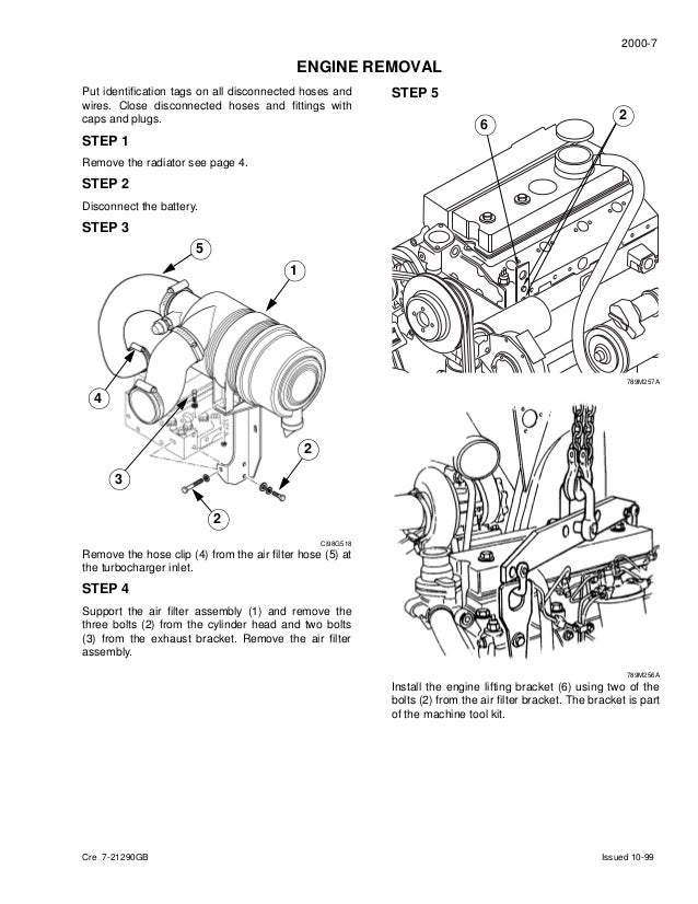 CASE 860 BACKHOE LOADER Service Repair Manual