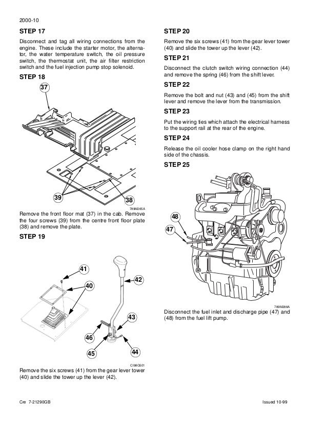 CASE 860 BACKHOE LOADER Service Repair Manual Case B Backhoe Ignition Switch Wiring Diagram on