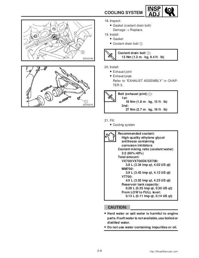2002 Yamaha SXViper (SXV700) SNOWMOBILE Service Repair Manual on sr viper, 02 yamaha vulcan, 02 yamaha wolverine, 02 yamaha banshee,
