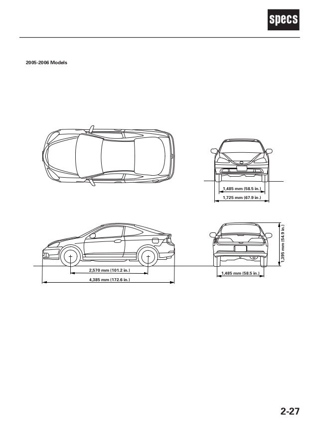 2003 ACURA RSX Service Repair Manual