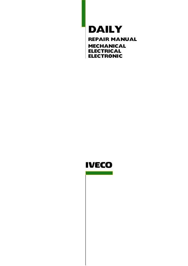 2003 iveco daily 3 service repair manual