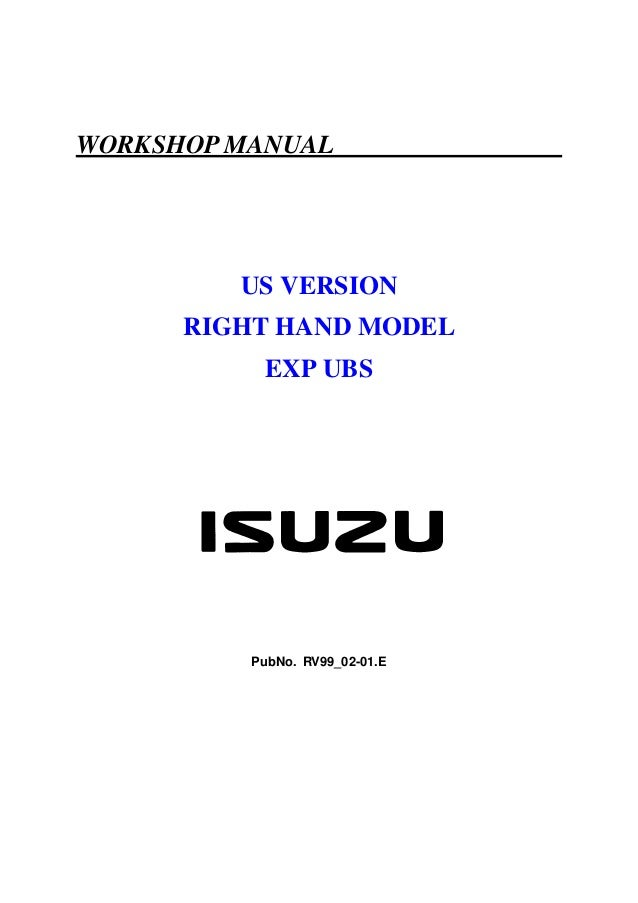 isuzu rodeo service manual 93 1 manuals and user guides site u2022 rh myxersocialradio com 2004 isuzu rodeo owners manual pdf 2002 isuzu rodeo owners manual pdf