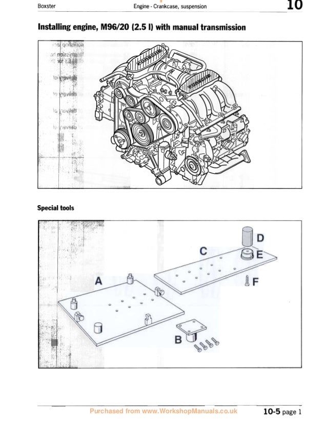 2003 Porsche Boxster 986 Service Repair Manual